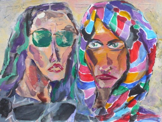 Inez & Laura (sold)